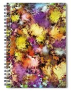 Dismantling The Flowers Spiral Notebook
