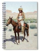 Distant Village, 1890 Spiral Notebook