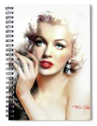 Diva Mm Bright Spiral Notebook
