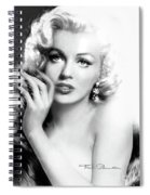 Diva Mm Bw Spiral Notebook
