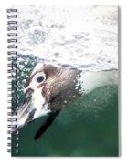 Dive Penguin Dive Spiral Notebook
