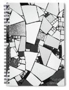 Divided Shapes Spiral Notebook