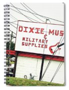 Dixie Music Spiral Notebook