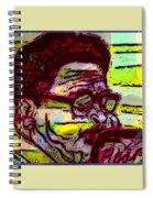 Diz Blowin High Spiral Notebook