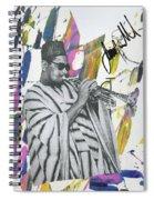 Dizzie Spiral Notebook