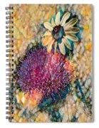 Dizzy Daisy Spiral Notebook