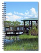 Dock On The River Spiral Notebook