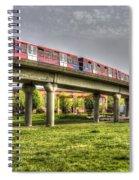 Docklands Light Railway Train  Spiral Notebook