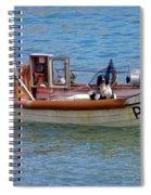 Doggone Fishin Spiral Notebook