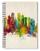Doha Qatar Skyline Spiral Notebook
