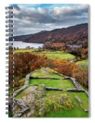 Dolbadarn Castle View Spiral Notebook
