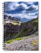 Dolomites Spiral Notebook
