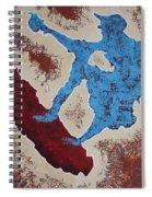 Don Quixote On A Surfboard Spiral Notebook