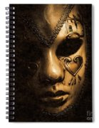 Dont Be Evil Said The Masked Villain Spiral Notebook