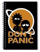 Don't Panic Spiral Notebook