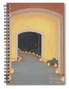 Doorway To The Festival Of Lights Spiral Notebook