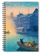Dotonbori Morning - Top Quality Image Edition Spiral Notebook