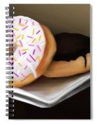 Doughnut Life Spiral Notebook
