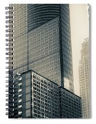 Downtown Minneapolis Spiral Notebook