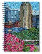 Downtown Raleigh Spiral Notebook