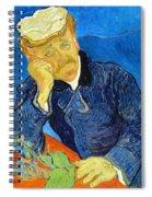 Dr Paul Gachet - Digital Remastered Edition Spiral Notebook