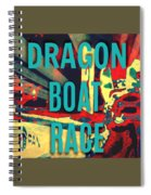 Dragon Boat Race Spiral Notebook