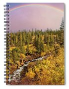 Dreams Come True With Text Spiral Notebook