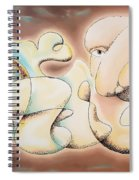 Dreams Of Gold Spiral Notebook