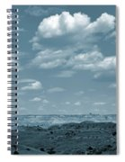 Drifting Clouds And Shifting Shadows Spiral Notebook