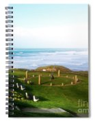 Droskyn Sundial Perranporth Spiral Notebook