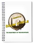 Drum Circle Logo Spiral Notebook