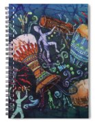 Drumbeat Spiral Notebook