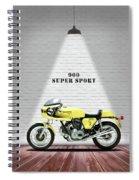 Ducati 900 Super Sport Spiral Notebook