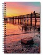 Dunedin Pier Spiral Notebook