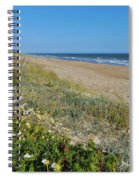 Dunes Wooden Fence Spiral Notebook