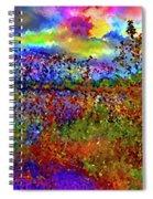 Dusk Someplace Else Spiral Notebook