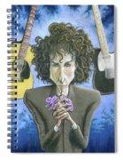 Dusky Resolution - Bob Dylan Spiral Notebook
