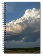 Dying Thunderstorms At Sunset 006 Spiral Notebook