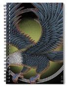 Eagle Illustration  Spiral Notebook