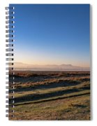 Early Morning Sunrise In Clarens Spiral Notebook
