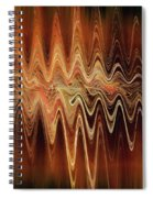 Earth Frequency Spiral Notebook