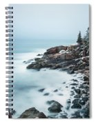 East Coast Winters Spiral Notebook