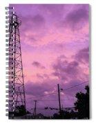 East Texas Oil Derrick Spiral Notebook