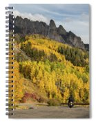 Easy Autumn Rider Spiral Notebook