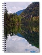 Echo Lake Early Autumn Reflection Spiral Notebook
