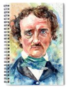 Edgar Allan Poe Portrait Spiral Notebook