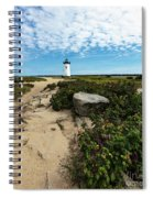 Edgartown Lighthouse Marthas Vineyard Spiral Notebook