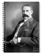 Edward Elgar Studio Portrait Spiral Notebook
