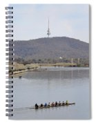 Eight On The Lake - 09222018 Spiral Notebook