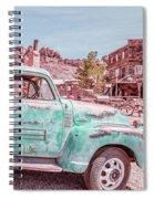 Eldorado Ghost Town Searchlight Nevada Pano Spiral Notebook